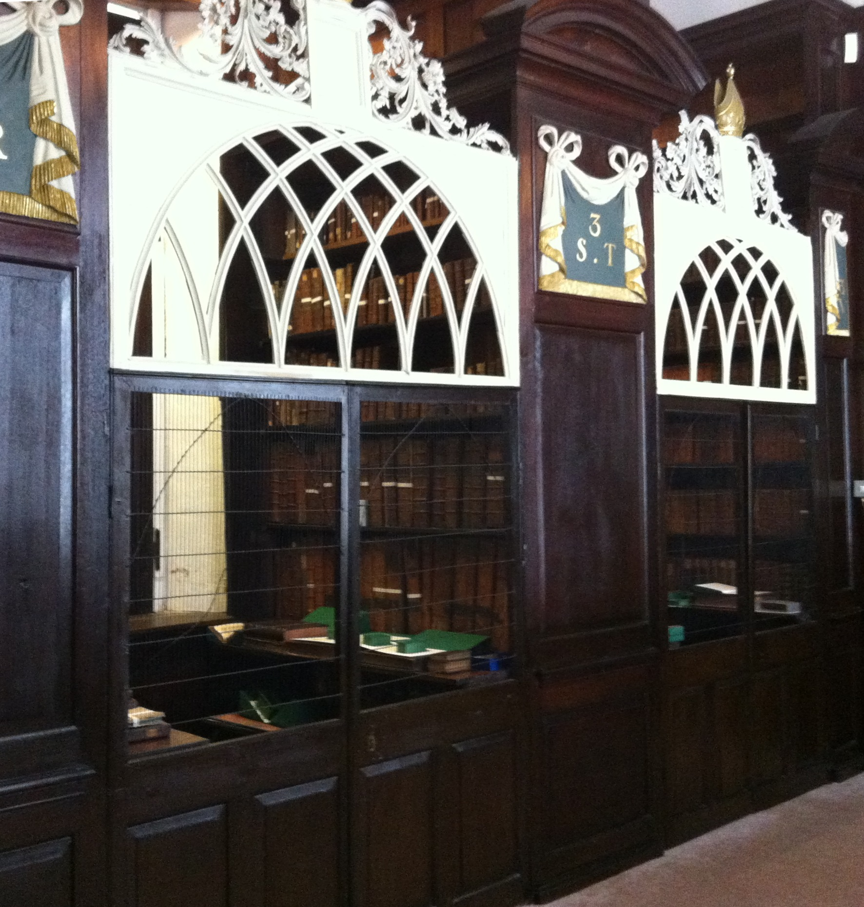 Marsh's Library Cages