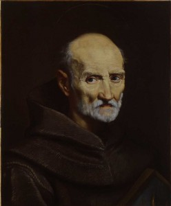 Oil painting of Luke Wadding by Carlo Maratta held in the National Gallery of Ireland (public domain)
