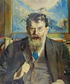 Portrait of George William Russell Wikimedia, Public Domain
