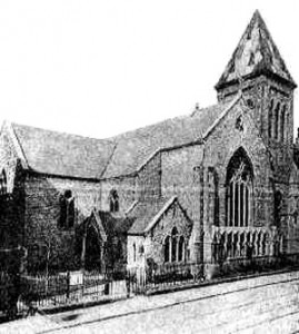St Peter's Church, 1880 Wikimedia, Public Domain