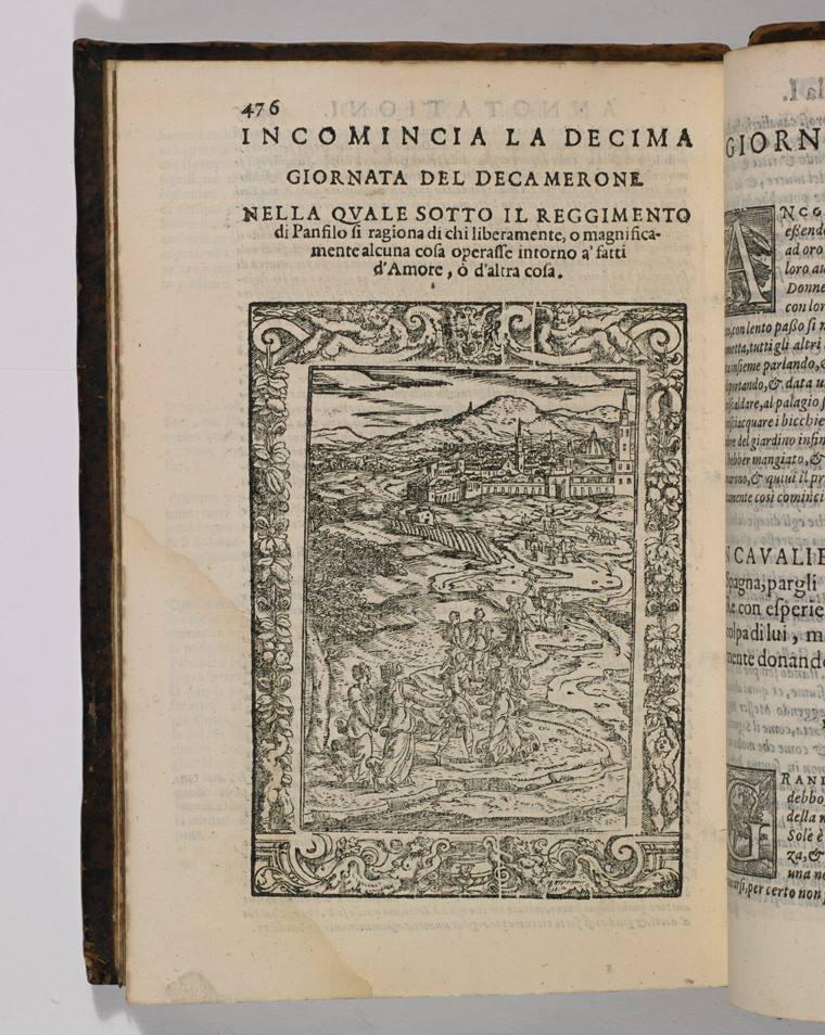 1590 edition of Boccaccio's Decameron (c) Marsh's Library (CC)