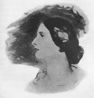 The young Lady Wilde