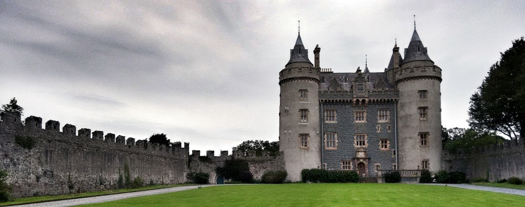 Killyleagh Castle, family home of Archibald Hamilton Rowan (c) Irish Philosophy, CC BY.