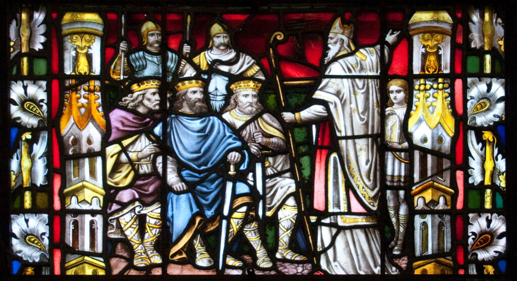 """""""St Patrick Preaching to the Kings"""", Carlow Cathedral (c) Andreas F. Borchert (CC BY-SA 3.0 DE)"""