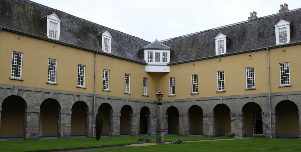 The inner courtyard, Dr Steeven's Hospital (c) Irish Philosophy