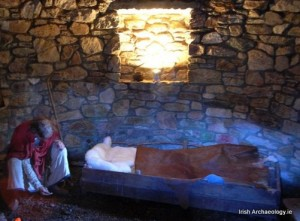 Replica monk's cell, National Heritage Park, Wexford Courtesy @IrishArchaeology.