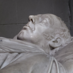 Monument in the west aisle of the south transept dedicated to Richard Whately, Archbishop of Dublin.